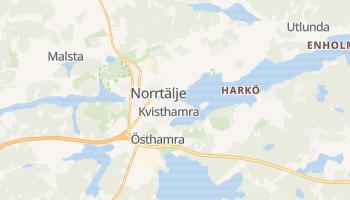 Norrtälje - szczegółowa mapa Google