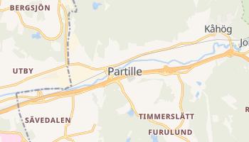 Gmina Partille - szczegółowa mapa Google