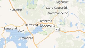 Uddevalla - szczegółowa mapa Google
