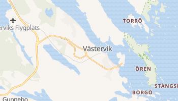 Västervik - szczegółowa mapa Google