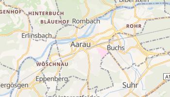 Aarau - szczegółowa mapa Google