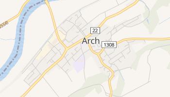 Łuk - szczegółowa mapa Google