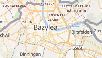 Bazylea - szczegółowa mapa Google