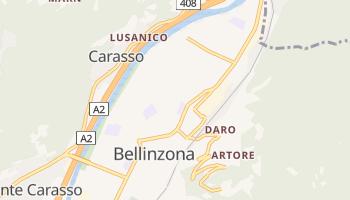 Bellinzona - szczegółowa mapa Google
