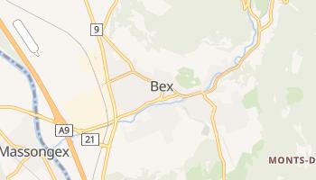 Bex - szczegółowa mapa Google