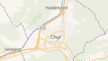 Chur - szczegółowa mapa Google