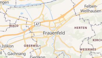 Frauenfeld - szczegółowa mapa Google