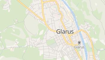 Glarus - szczegółowa mapa Google