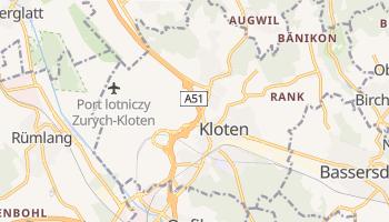 Kloten - szczegółowa mapa Google