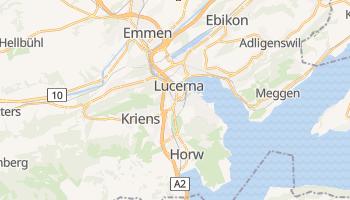 Lucerna - szczegółowa mapa Google