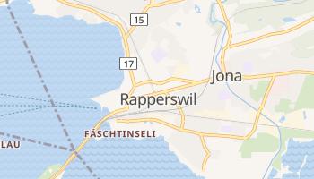 Raperswil - szczegółowa mapa Google