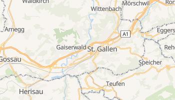 Sankt Gallen - szczegółowa mapa Google