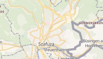 Szafuza - szczegółowa mapa Google