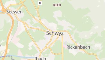 Schwyz - szczegółowa mapa Google