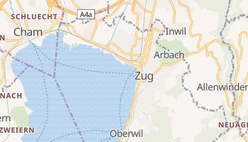 Zug - szczegółowa mapa Google