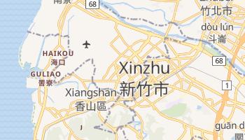 Xinzhu - szczegółowa mapa Google