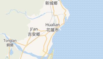 Hualian - szczegółowa mapa Google