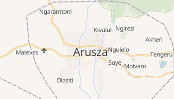 Arusza - szczegółowa mapa Google