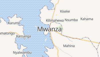 Mwanza - szczegółowa mapa Google