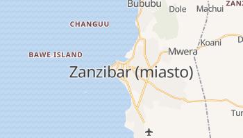 Zanzibar - szczegółowa mapa Google