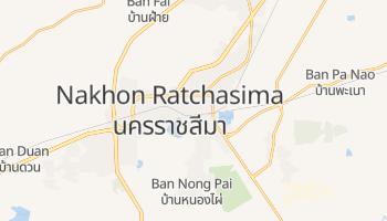 Nakhon Ratczasima - szczegółowa mapa Google