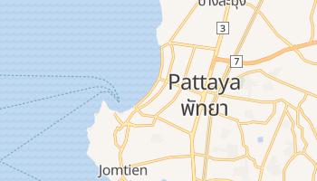 Pattaya - szczegółowa mapa Google