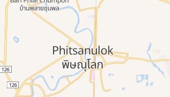 Phitsanulok - szczegółowa mapa Google
