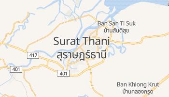 Surat Thani - szczegółowa mapa Google