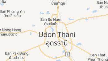 Udon Thani - szczegółowa mapa Google