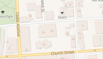Hamilton - szczegółowa mapa Google