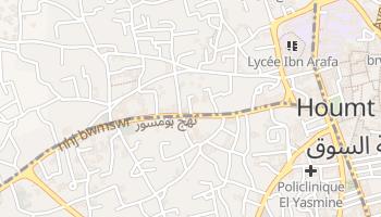 Dżerba - szczegółowa mapa Google