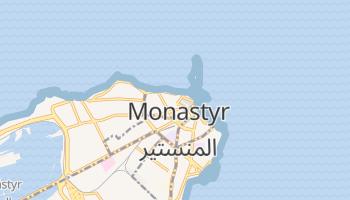 Monastir - szczegółowa mapa Google