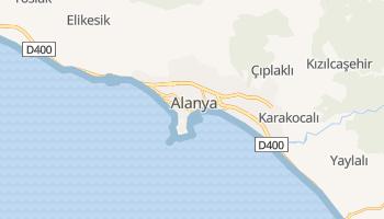 Alanya - szczegółowa mapa Google