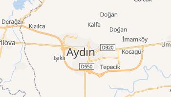 Aydın - szczegółowa mapa Google