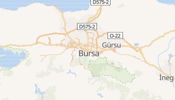 Bursa - szczegółowa mapa Google