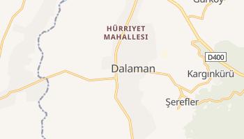 Dalaman - szczegółowa mapa Google