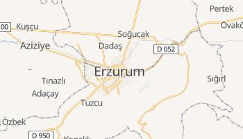 Erzurum - szczegółowa mapa Google