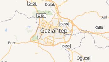 Gaziantep - szczegółowa mapa Google