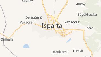 Isparta - szczegółowa mapa Google