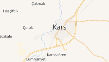 Kars - szczegółowa mapa Google