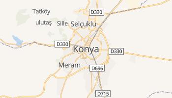 Konya - szczegółowa mapa Google