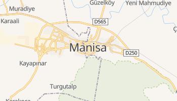 Manisa - szczegółowa mapa Google