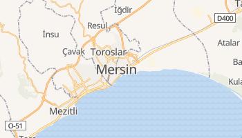 Mersin - szczegółowa mapa Google