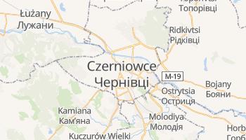Czerniowce - szczegółowa mapa Google
