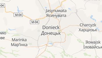 Donieck - szczegółowa mapa Google