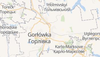 Gorłówka - szczegółowa mapa Google