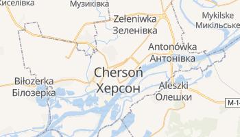 Chersoń - szczegółowa mapa Google