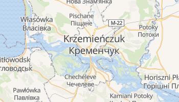Krzemieńczuk - szczegółowa mapa Google