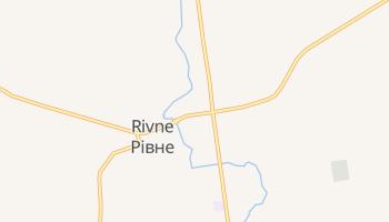 Równe - szczegółowa mapa Google