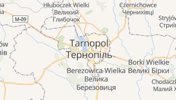 Tarnopol - szczegółowa mapa Google